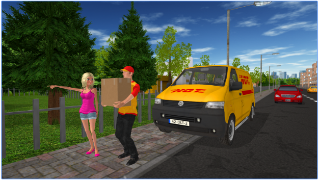 Delivery Game for PC Screenshot