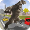 Orangutan City Destruction Free Action Game
