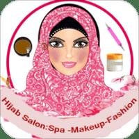 hijab girl salon: spa-Make Up-Fashion