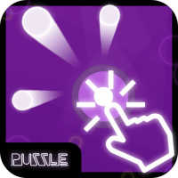 Touch dot puzzle game