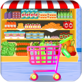 Grocery Shopping Supermarket Games: Cashier Games