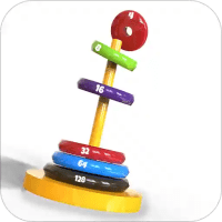 Stack it: Drop Stack Ring Bubble Sort 3D