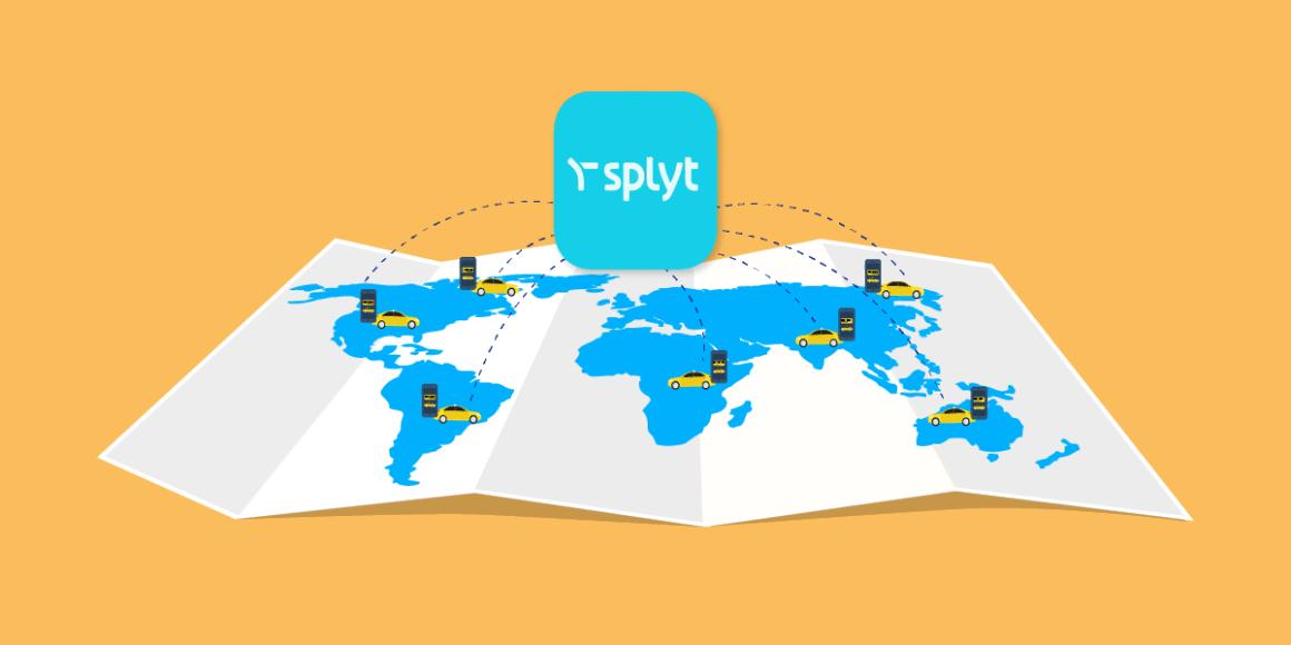 Splyt подключит всемирно известные приложения Ride-Hailing для облегчения международного роуминга