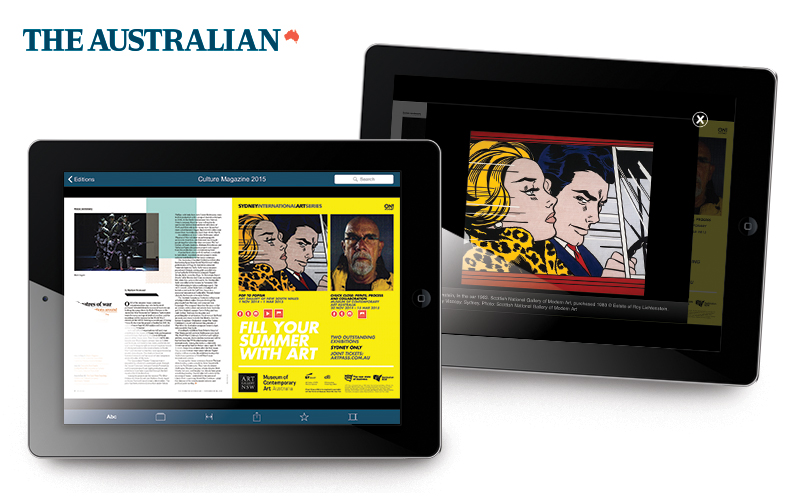 Interactive Digital Publications for tablet mobile devices Agency Brisbane Sydney Sunshine Coast