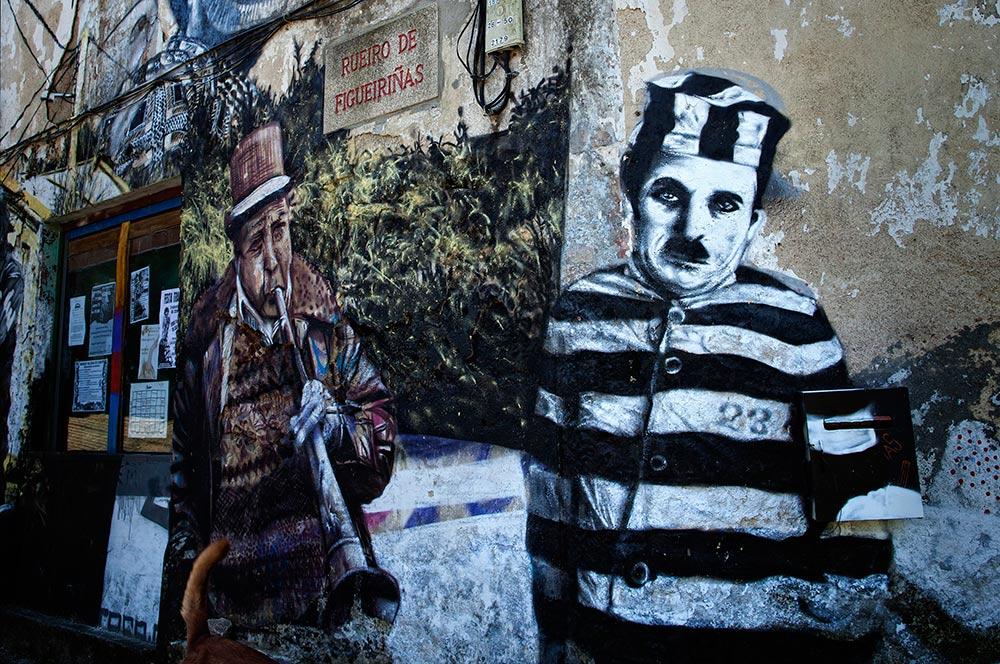 Chaplin - Santiago de Compostela