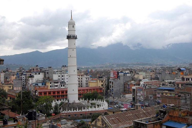 Torre Dharahara antes