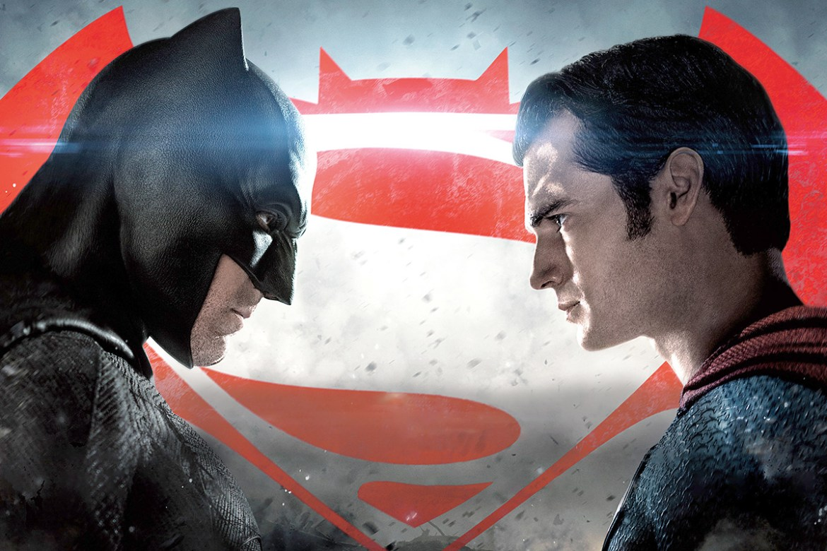 Batman v Superman trailer afiche calificacion