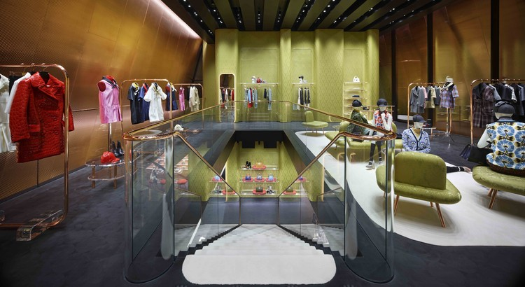 Arquitectura comercial: Miu Miu Aoyama