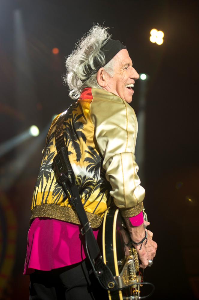 Keith Richards - The Rolling Stones en Chile | Fotógrafo: Javier Valenzuela