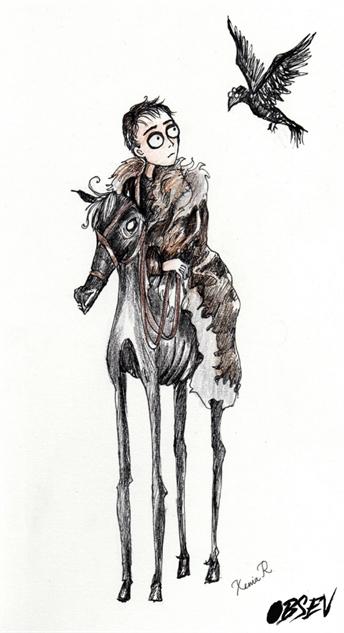Game of Thrones Tim Burton Bran Stark