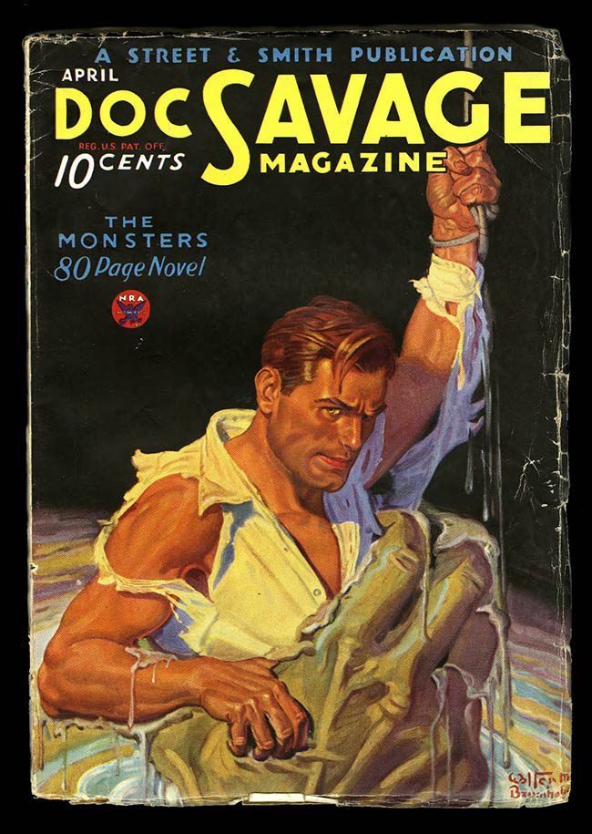 Doc Savage The Rock