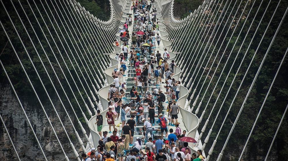 Puente China cristal