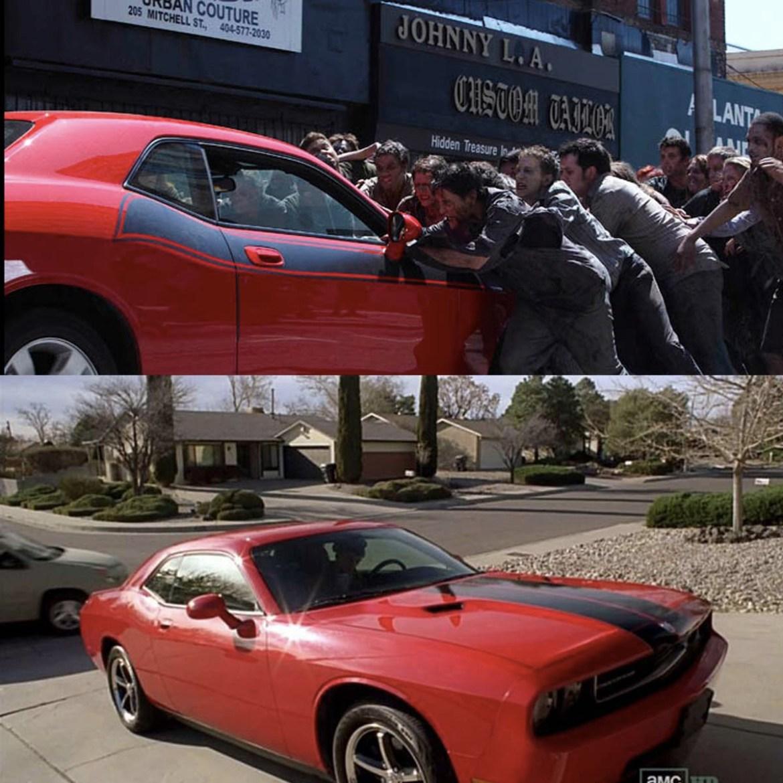 El famoso Dodge en Breaking Bad y The Walking Dead