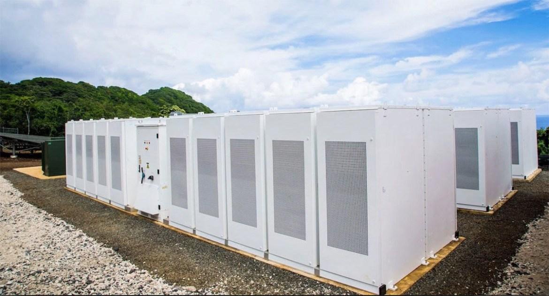 isla tau energia solar baterias