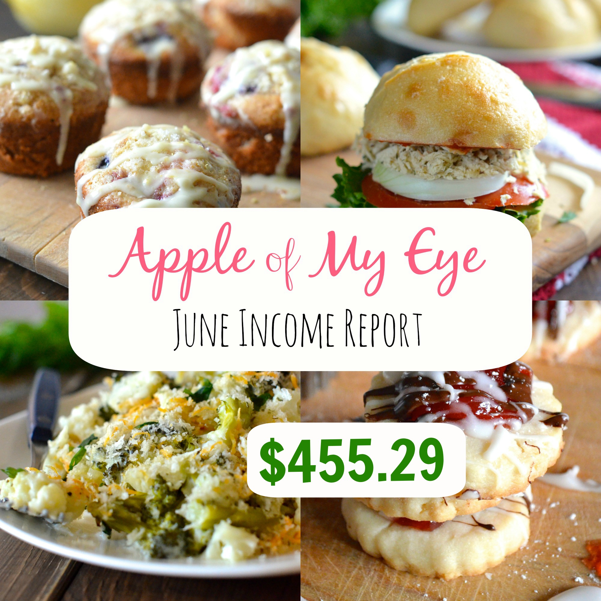455 Eye Apartments: June Income Report- $455.29