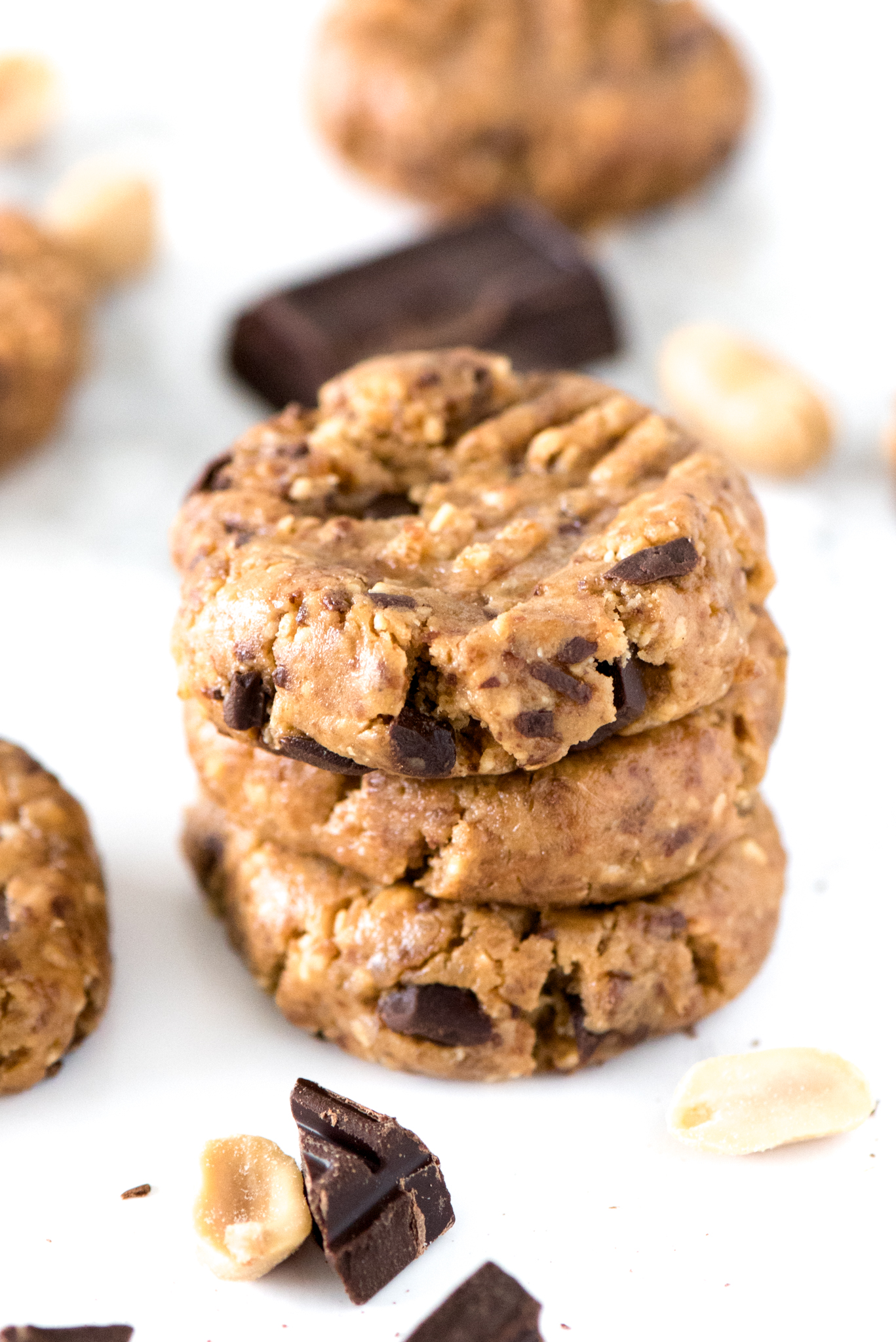 Healthy No Bake Energy Cookies 4 Ingredients Apple Of My Eye