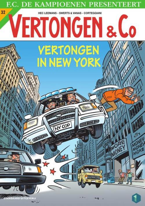 Vertongen in New York - Hec Leemans - Paperback (9789002269905)