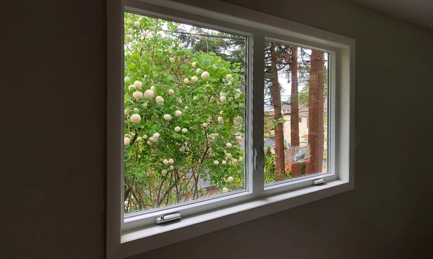 Energy-efficient windows with a Springtime view