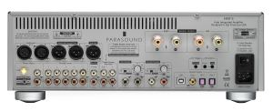 Parasound Hint 6 Integrated Amplifier Back