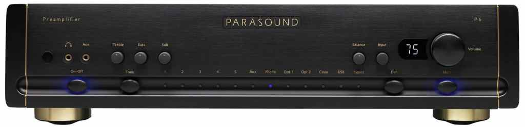 Parasound Amplifiers