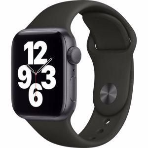 Apple Watch SE GPS 40mm (Zwart) Sportband