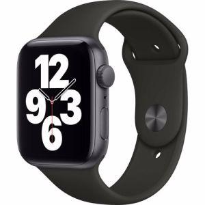 Apple Watch SE GPS 44mm (Zwart) Sportband