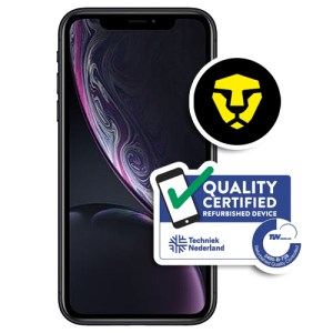 Apple iPhone XR 64GB Refurbished Grade A Black met abonnement van hollandsnieuwe