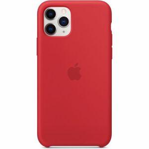 Apple siliconen telefoonhoesje iPhone 11 Pro (Rood)