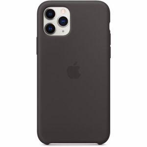 Apple siliconen telefoonhoesje iPhone 11 Pro (Zwart)