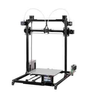 FLSUN_C Plus Touchscreen Dual Nozzle 3D-printer i3 Plus DIY-set met automatische nivellering RepRap Desktop 3D-printen Verwarmd bed