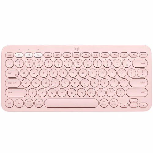 Logitech bluetooth toetsenbord K380 US voor Mac (Roze)