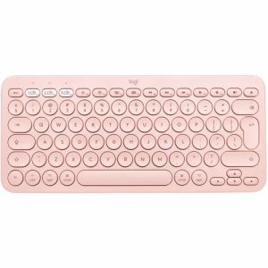 Logitech bluetooth toetsenbord K380 voor Mac (Roze)
