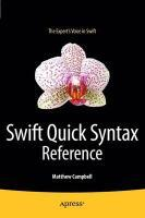 Swift Quick Syntax Reference