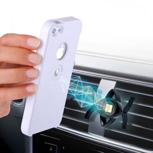 Tetrax Apple iPhone 5 / 5S / SE XCase + Smart houder - Wit