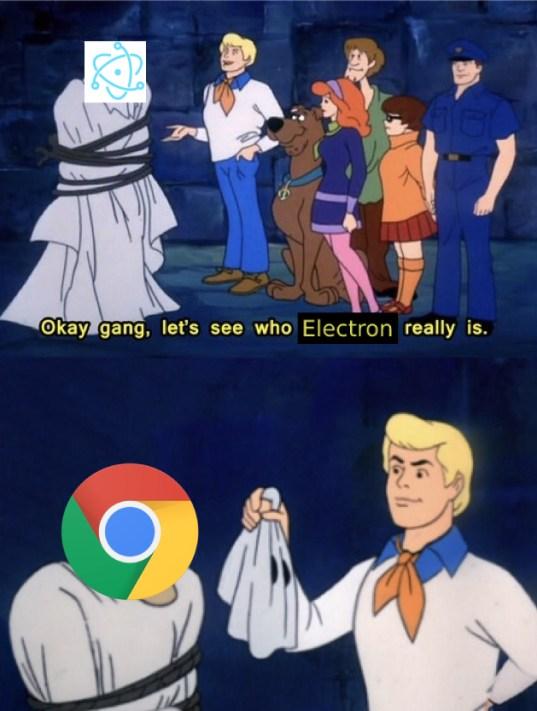 Electron Humor Scooby Doo