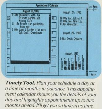 Pinpoint: Calendar
