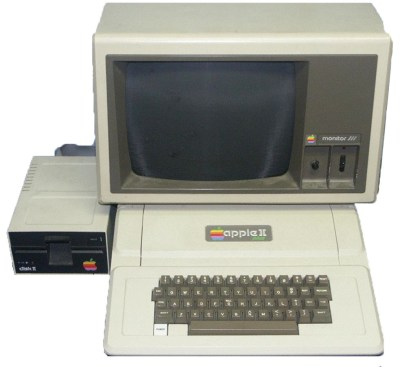 Apple II Plus and Monitor ///