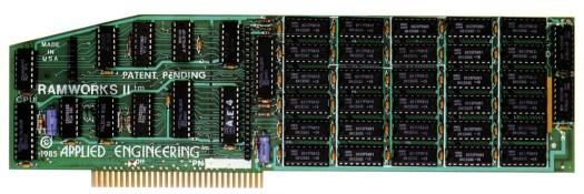 RAMWorks II 1986