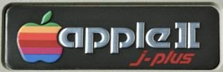 Apple II j-Plus name tag