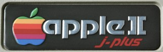 Apple II j-Plus name tag