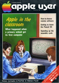 Apple User, Nov 1984