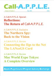 Call-A.P.P.L.E. May 2002 cover