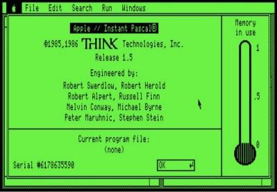 Instant Pascal 1.5 screenshot