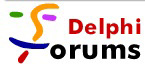 Delphi Forums logo, mid 2000s