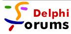Delphi Forums logo, mid 2000s