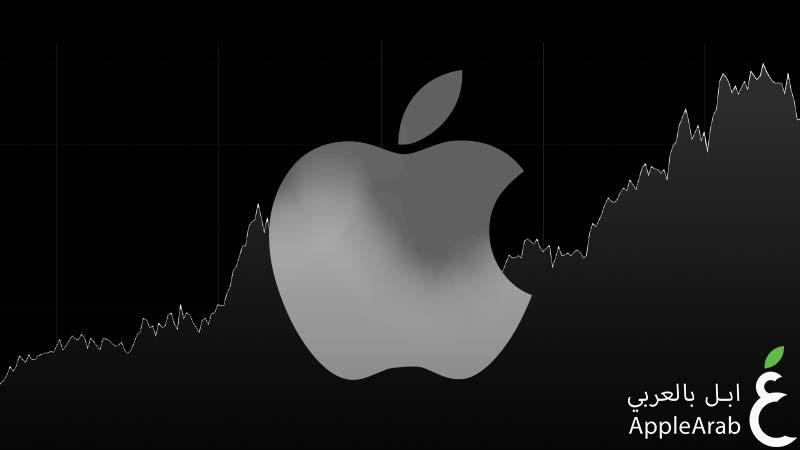 أسهم شركة Apple