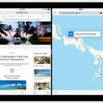 ميزة تعدد المهام بالنوافذ Split View في iOS 9