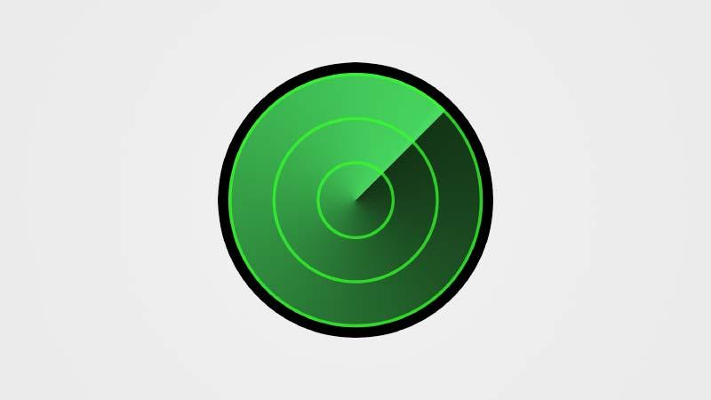 شعار العثور على الايفون Find My iPhone