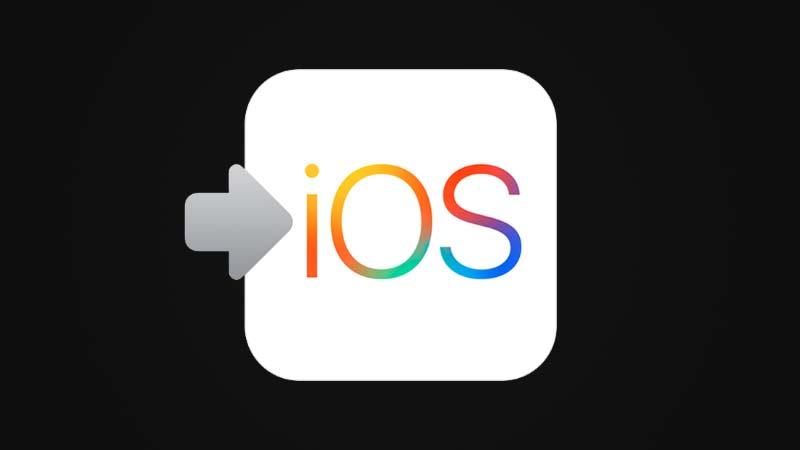 تطبيق انتقل إلى iOS
