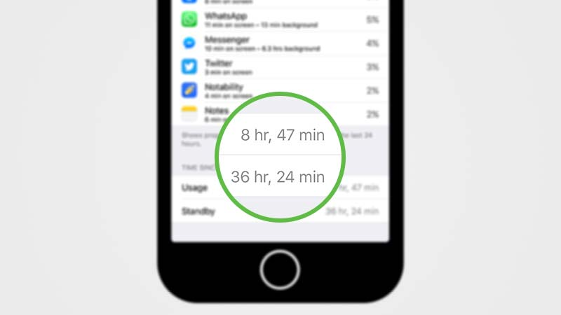 أداء البطارية في iOS 9